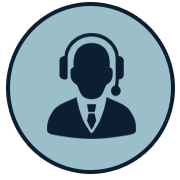 Man with Headset Icon